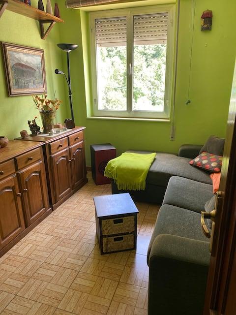Apartamento acolhedor em um enclave natural único.