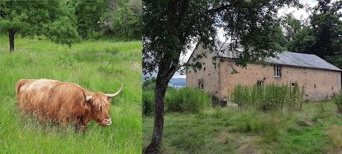 Maison au Ranch dans le Parc du Morvan (+de100m2)