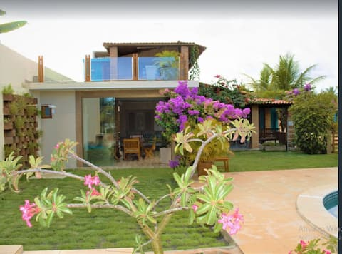 Casa Charme na praia de Sonho Verde, Alagoas