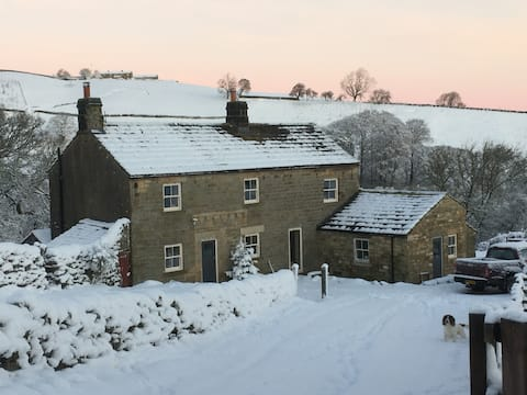 Self-contained annex in Nidderdale Farmhouse