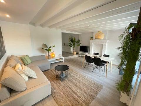 Útulný byt pro 4 p. se zahradou v Tremelo