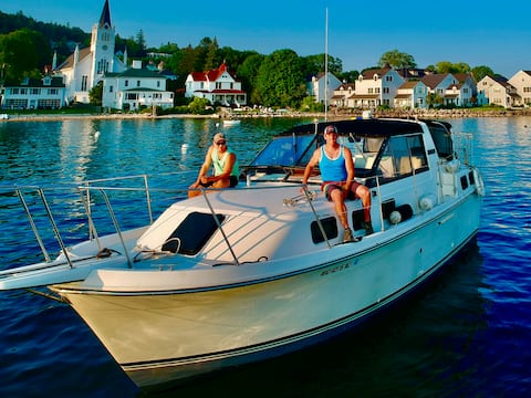 Home on a Rope: Compact Yacht on Mackinac Island