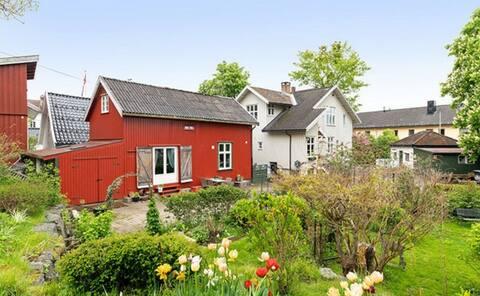 Idyllisk gjestehus i hjertet av Drøbak sentrum.