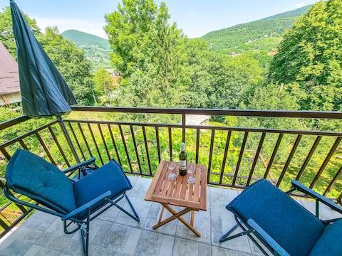 Aparthouse Bilić- Lakeside apartment (AC,WiFi,TV)