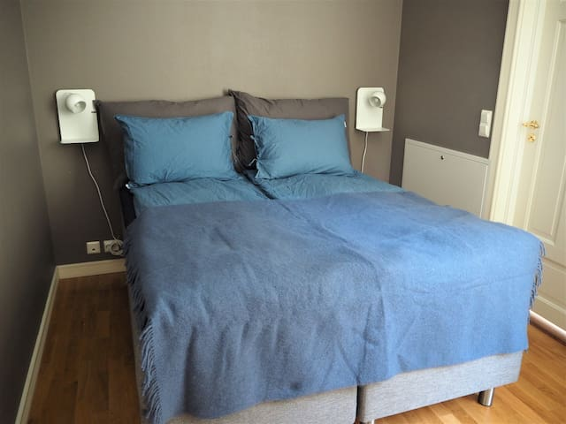 Bedroom 1 with queensize bed