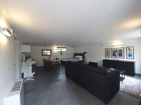 Modernes & frisches Apartment im Zentrum von Halmstad