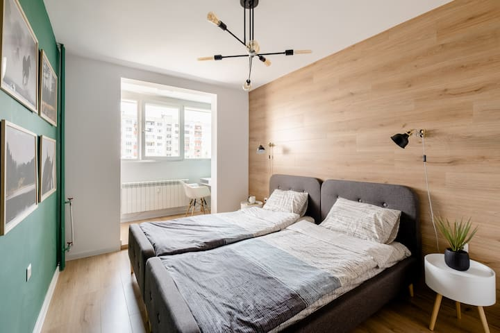 Bedroom #2 can offer you peaceful sleep.
