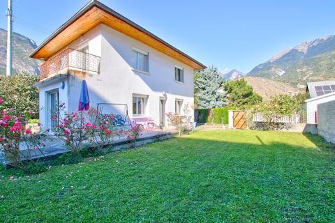 Maison individuelle complète de 120m² avec jardin