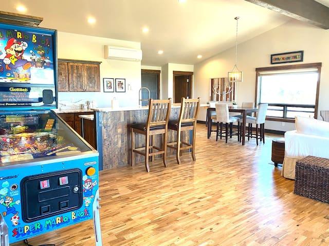 Mario-Bros vintage pinball machine for your enjoyment!