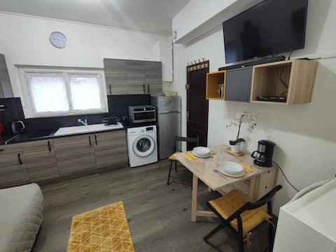 Le Rislois des Baquets - Studio moderne et cosy