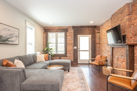 Riveting industrial townhome in trendy WestReading