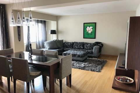 Cosy flat at safe&silent location close to metro