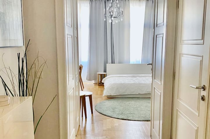Corridor to the bedroom | living space