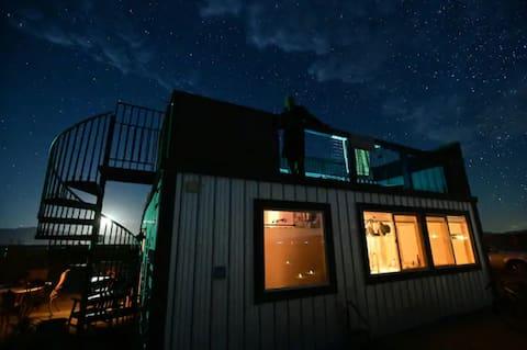 The Glow House -  Rooftop Stargazing Joshua Tree