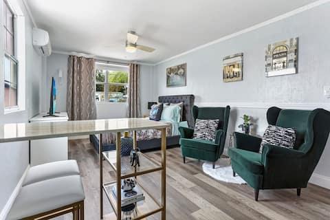 Suite elegante junto al centro de Orlando