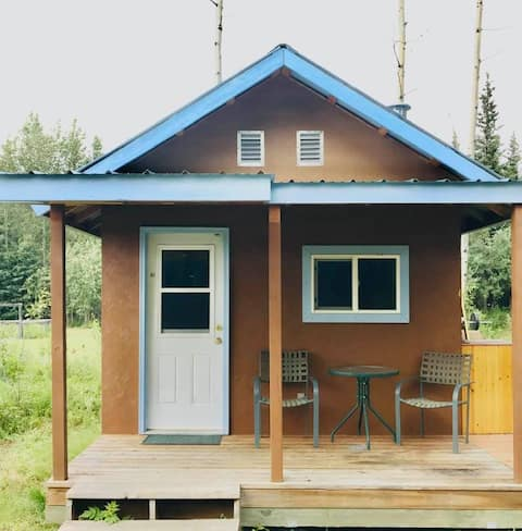 Cabin in Chistochina with FREE bicycle & kayak use