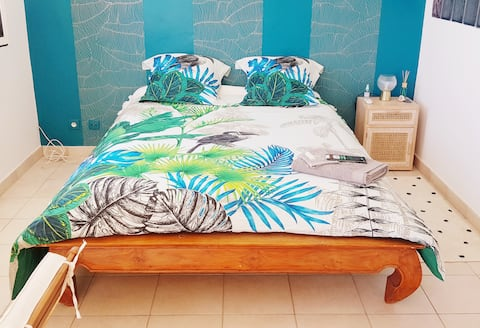 Agreable chambre privée vue mer Saint Leu