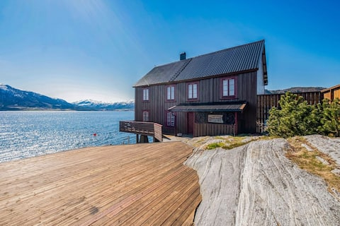 Your own Seaside house with quay