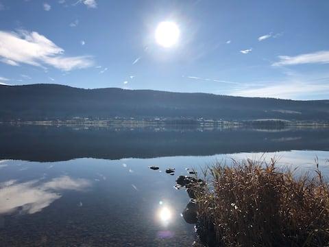 Studio au coeur de la Vallée, au bord du lac