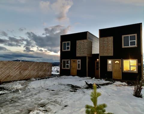 Cabaña, ubicada a 3 minutos de Puerto Natales.