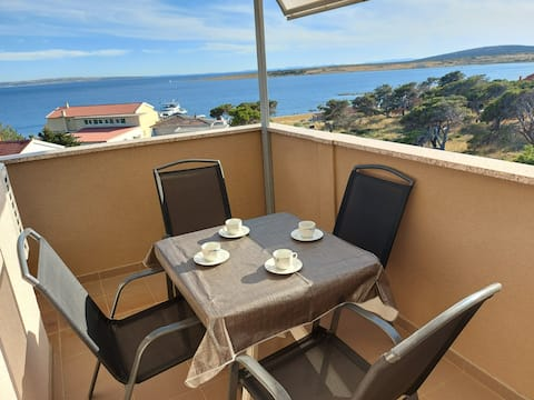 Lovely ☺ Apartment STEF 4  with fantastic sea view