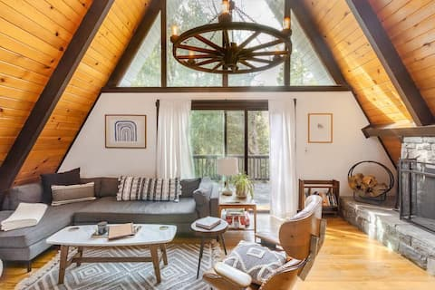 One of a Kind, Stylish Mid Century A-Frame