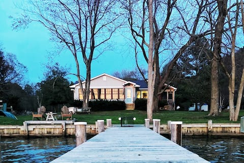 Kent Island Waterfront Home with Amazing Sunsets