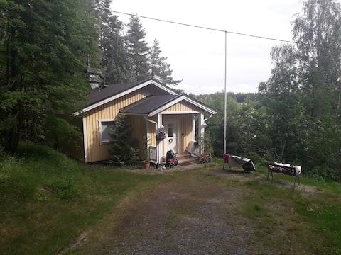 Nice villa at the lake with sauna