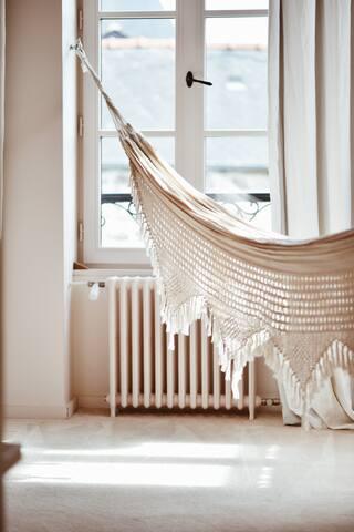 Le hamac dans la suite parentale est un gros coup de coeur.  Avec deux fenêtres orientées sud et une fenêtre à l'ouest, la chambre est baignée de lumière et se balancer dans le hamac avec la lumière du coucher de soleil est un véritable bonheur.