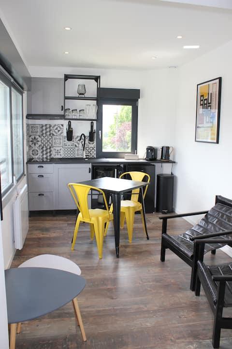 Studio duplex   vue Ligne Bleue des Vosges