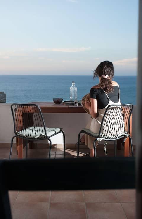 Cucuvaya House - Panoramatický výhled na moře