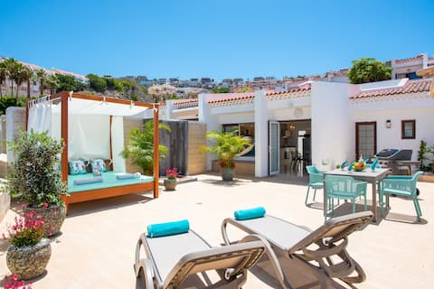 Haciendas Bungalow, Just Renovated, One Bedroom, Extra Big Chillout Terrace
