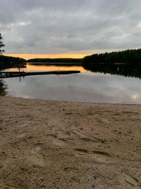 Saimaa - rauhallinen rantamökki