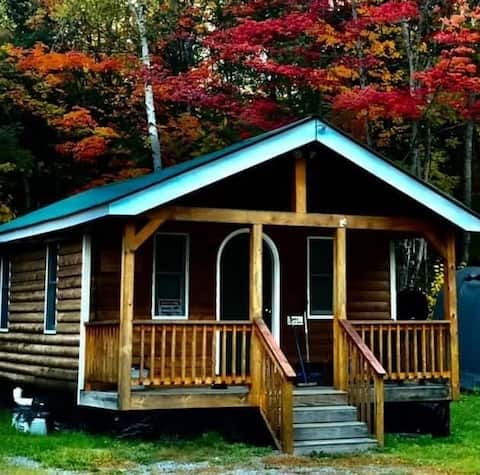 Cozy one room cabin with all the amenities of home