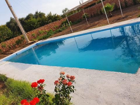 Magnifik villa med privat pool