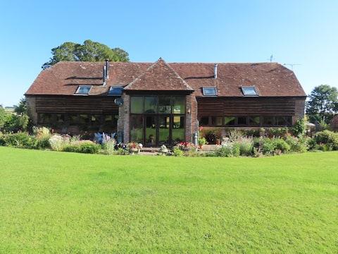 Impressive Grade2 listed barn conversion in Dorset