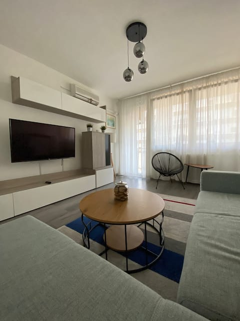 Modern 1-bedroom cozy apartment