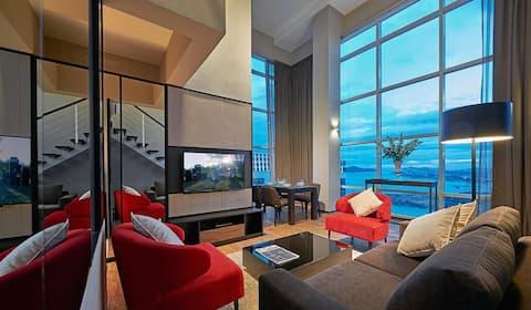 ❤️180° City & Seaview❤️  Maritime Luxury Suites