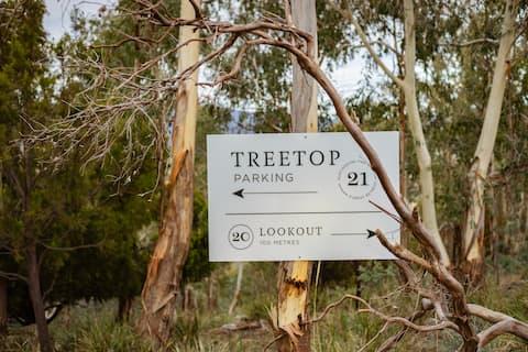 Huntingdon Tier Forest Retreat – Treetop Bus