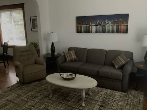 Cozy 1-bedroom home with off street parking