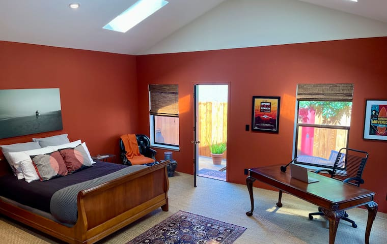 Spacious living - plenty of room to work, play and relax!