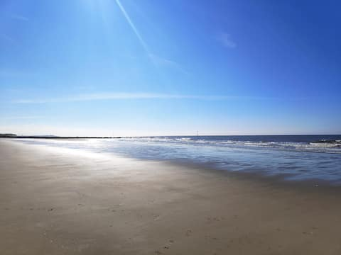 Private Access to Beautiful Sandy Beach