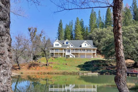 The Peaceful Pond Retreat