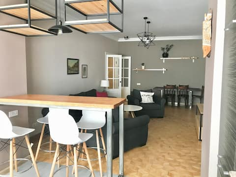 Cozy apartment in walking distance to down town