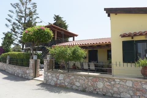 Kiparissia villa rhodes