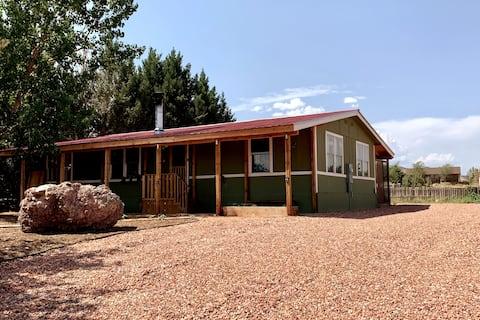 The Navajo Farmhouse with Herb Garden & Koi Pond