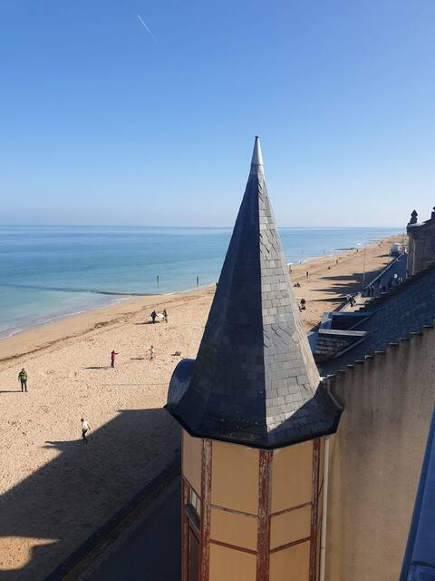 Appartement vue mer Saint-Aubin sur mer