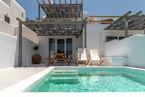 Suite Roccia con piscina privada