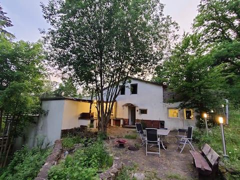 Riant huis in een bosrijke omgeving