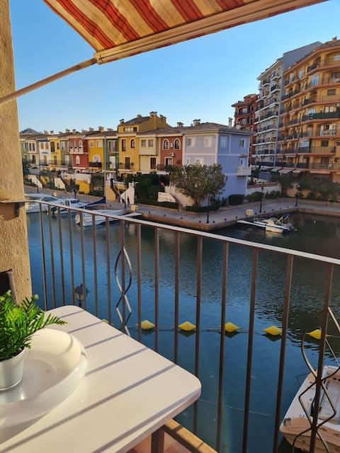 Precioso apartamento en la Pequeña Venecia